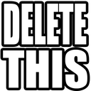 Emoji for delete