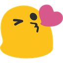 Emoji for BlobKissHeart