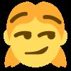 :ladysmirk: Discord Emote