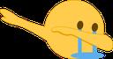 Emoji for dab_crying
