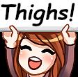 :thighs: Discord Emote