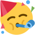 Emoji for PartyingFace