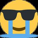 Emoji for CryingSunglasses