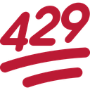 Emoji for 429