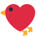 Emoji for lovbirb
