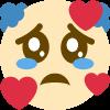 :SadClownHearts: Discord Emote