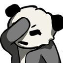 Emoji for panda_facepalm