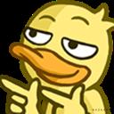 :DuckFingerGuns: Discord Emote