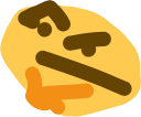 Emoji for thonk