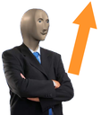 Emoji for stonks_up