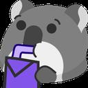:CAT_drink: Discord Emote