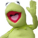 Emoji for Kermit_Hi