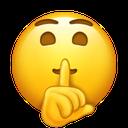 Emoji for shh