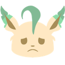 Emoji for BlobLeafSad
