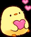 :chickheart: Discord Emote