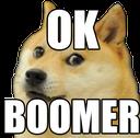:OkBoomerDog: Discord Emote