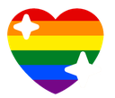 Emoji for HeartLGBT