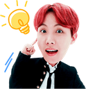 :jhope_idea: Discord Emote