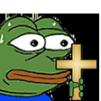 Emoji for pepeChrist
