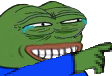 Emoji for peepoLaughPoint