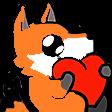 :FoxLuv: Discord Emote
