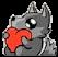 :greywolflove: Discord Emote