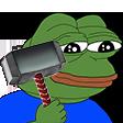 Emoji for PEP_pepeFeelsBanMan