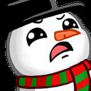 :snowmanwtf: Discord Emote