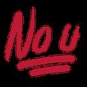 no_u_red