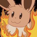 Emoji for EeveeThisIsFine