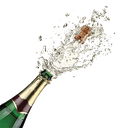 Emoji for champagne_shower