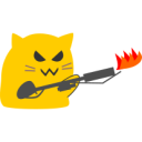 :meow_flame_thrower: Discord Emote