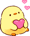 Emoji for Chick_Heart1