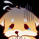 Emoji for Shiba_Nervous