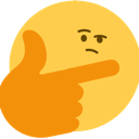 Emoji for bigbrainthink