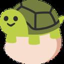 Emoji for turtlegg