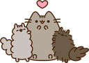 :5555_love_pusheen: Discord Emote