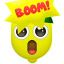 Emoji for mindblownlemon