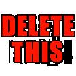 Emoji for deletethis