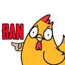 Emoji for ChickenBan