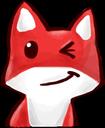 :FoxWink: Discord Emote