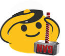 Emoji for red_blobsaluteban