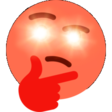 Emoji for red_hyperthinking