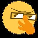 Emoji for red_hmmm