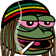 Emoji for FeelsWeedMan