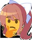 Emoji for red__MonikaThinking