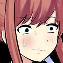 Emoji for red__Monika_concern