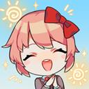 Emoji for red__SayoriHappy