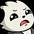 Emoji for pandisgust