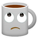 Emoji for eyerollcoffee